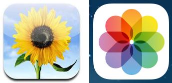 「写真」を表すものとして花を探すのに慣れていると、ビジュアルを流し読みしてこのアプリの探すのには大幅に時間がかかるようになるだろう。アイコンの外見が花ではなく、万華鏡のようになったからである。