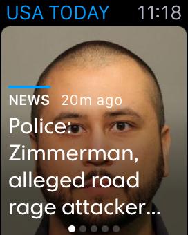 USA Todayの記事の見出しは切り詰められていて、それだけでは意味が通じない。