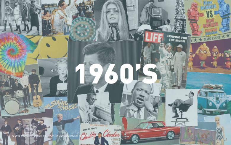 1960's - 「自我」-最新のテクノロジーの先頭を牽引し、社会に対して責任を持つ