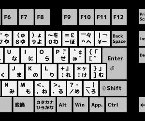 「キーボードは109系に統一しませんか」の記事画像