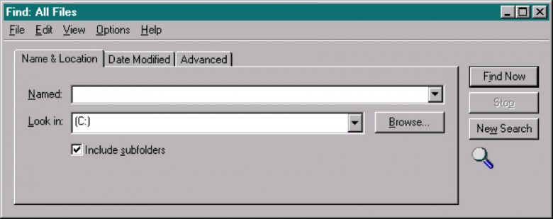 Windows 95のこうしたダイアログボックスでは、強い影とハイライトを利用して3D 効果を出していた。どういうふうにボタンが浮き出て見えるか、入力フィールドがくぼんで見えるかに注目してほしい。また、3個のタブのうちのどのタブが他の2個よりも上になっているかもわかりやすい。しかしながら、強い影はインタフェースの見栄えを悪くしてしまいがちだ。
