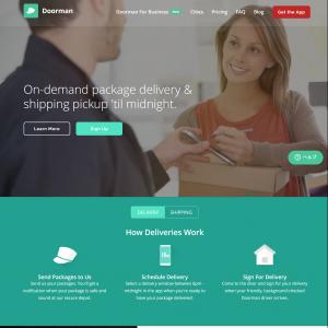 「宅配荷物受け取り代行サービスアプリ」の記事画像