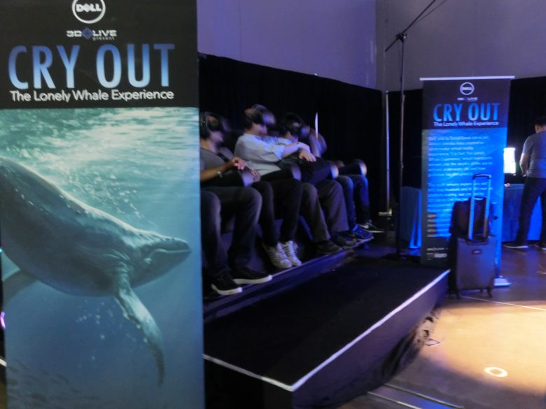 Cry Out: The Loney Whale Experience (DELL 3D Live)