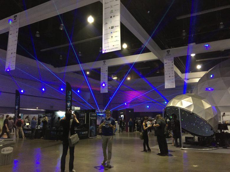 VRLAの展示の様子