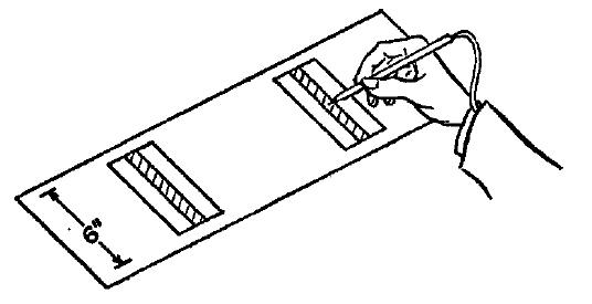 Fittsの最初の実験装置