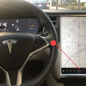「TeslaのタッチスクリーンUI: 自動車ダッシュボードUIのケーススタディ」の記事画像