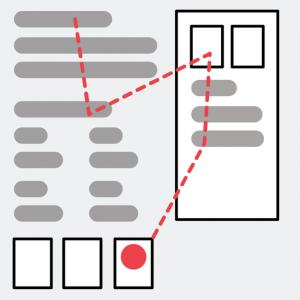 「複雑な検索結果ページが検索行動を変える: ピンボールパターン」の記事画像