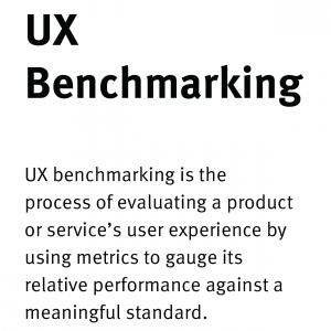 「製品のUXをベンチマークするための7つのステップ」の記事画像